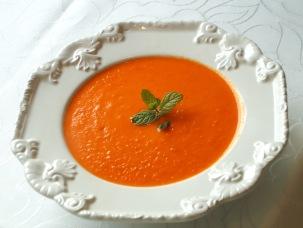 A Sopa de Pimentos de Paula Batista. Bonita e saborosa!